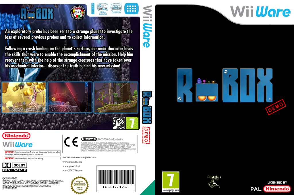 Robox (Demo) Wii coverfullHQ (XH6P)