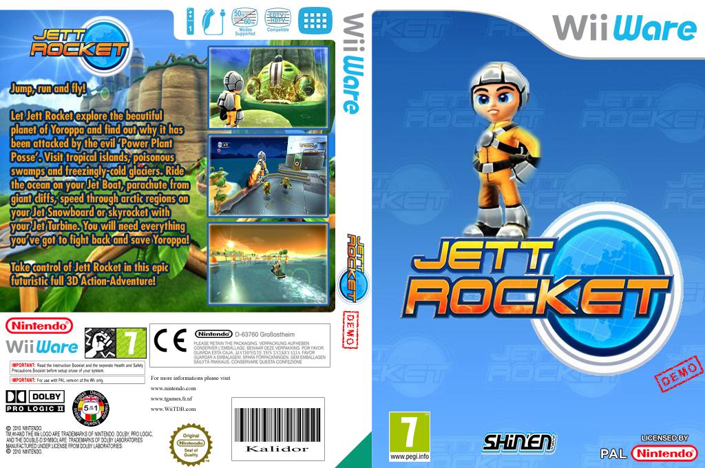 Jett Rocket (Demo) Array coverfullHQ (XHLP)