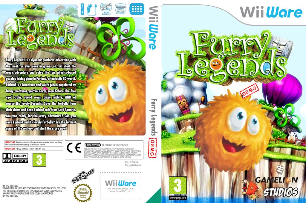 Furry Legends (Demo) Wii coverfullHQ (XHRP)