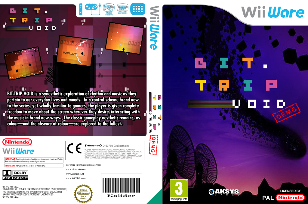 BIT.TRIP VOID (Demo) Wii coverfullHQ (XHWP)