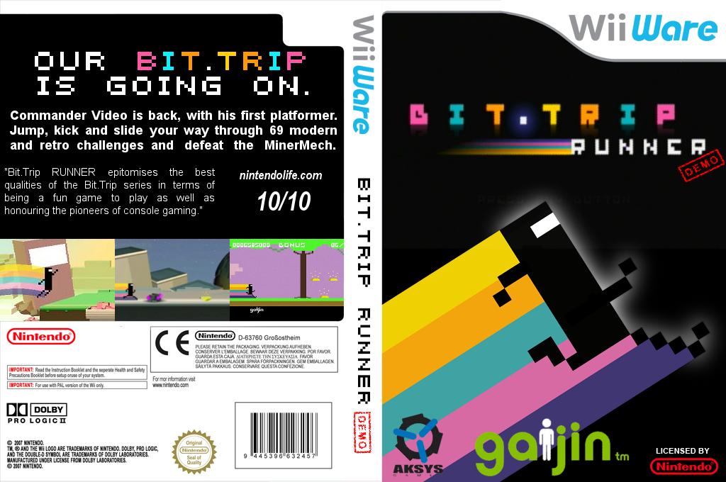 BIT.TRIP RUNNER (Demo) Wii coverfullHQ (XHXP)