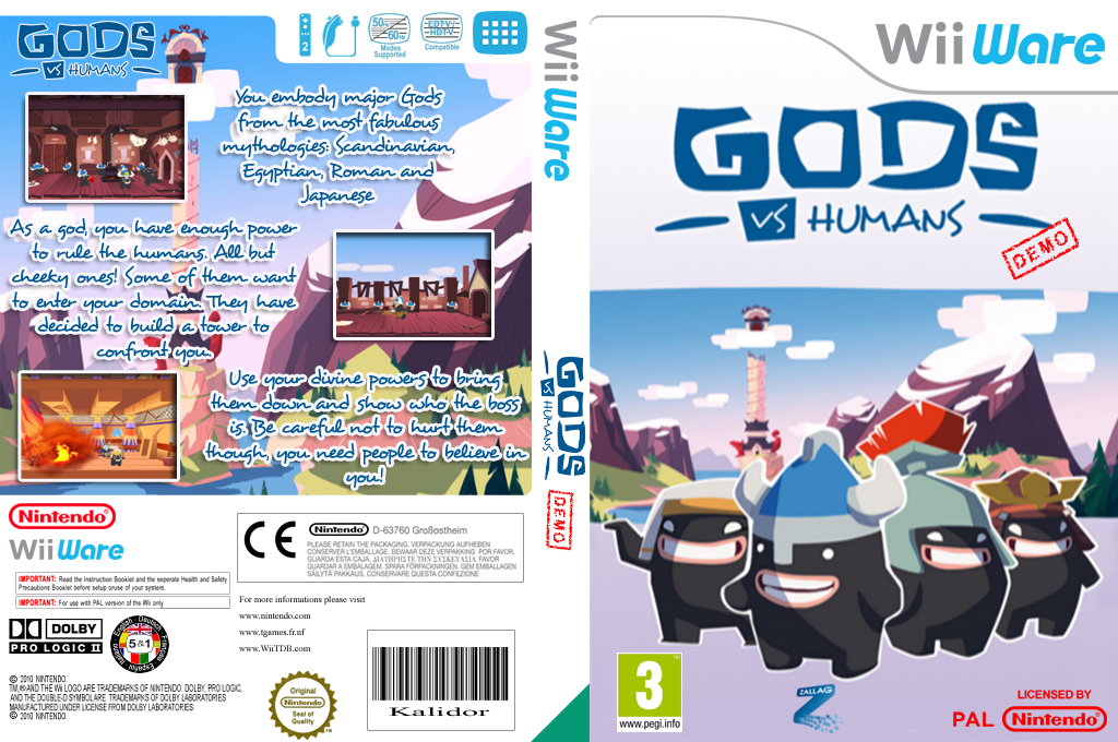 Gods vs Humans Demo Wii coverfullHQ (XICP)