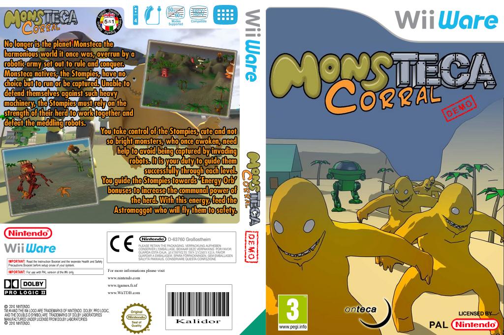 Monsteca Corral Demo Wii coverfullHQ (XIKP)