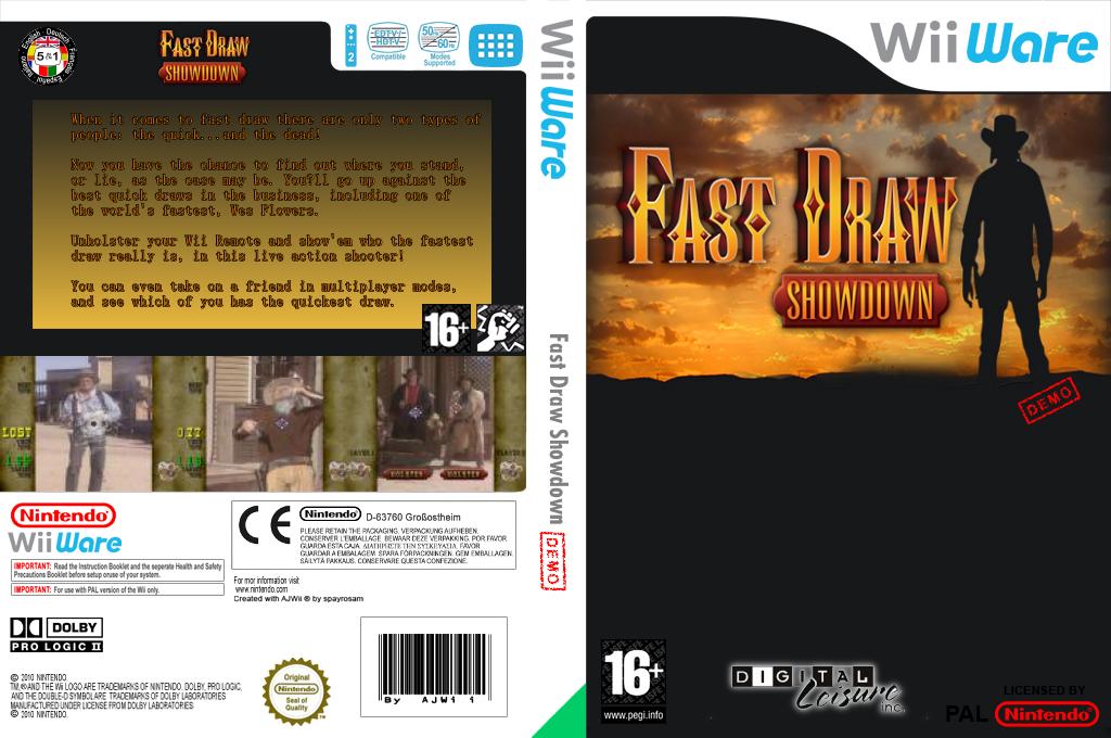 Fast Draw Demo Wii coverfullHQ (XITP)