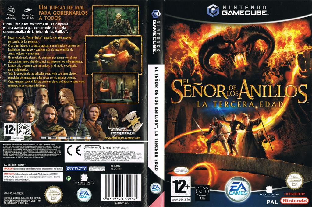 El Señor de los Anillos: La Tercera Edad Wii coverfullHQ (G3AS69)