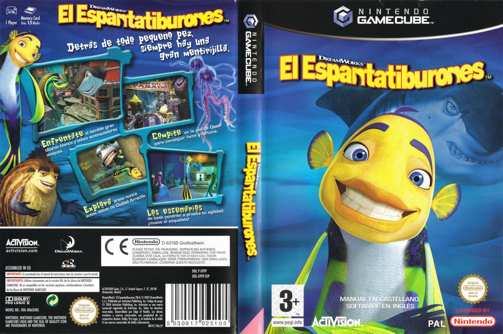 El Espantatiburones Wii coverfullHQ (G9TP52)