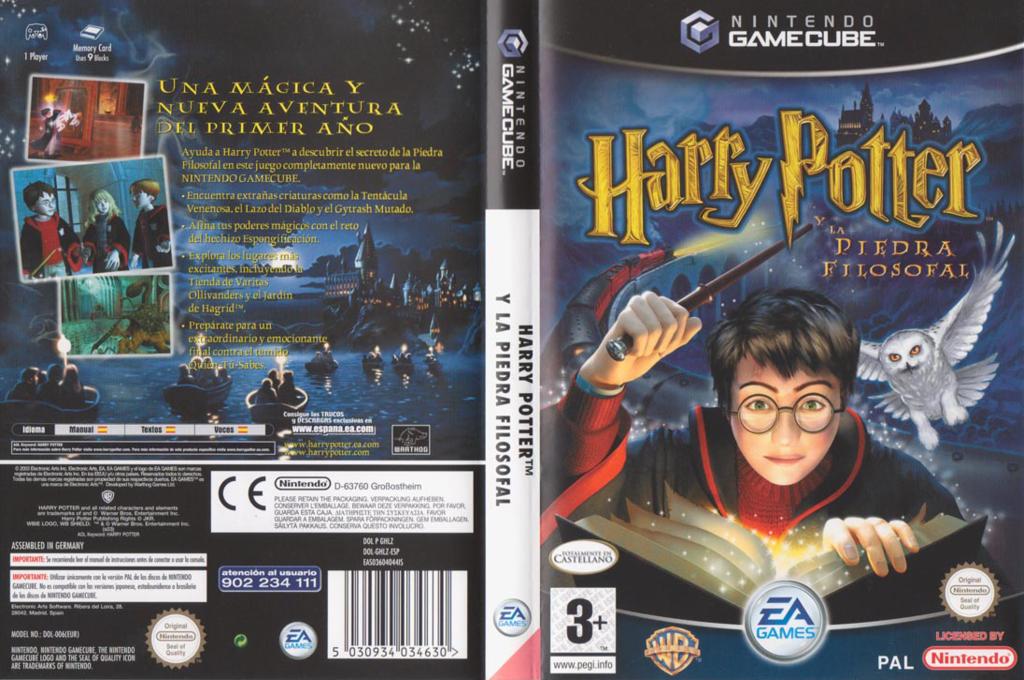 Harry Potter y la Piedra Filosofal Wii coverfullHQ (GHLZ69)