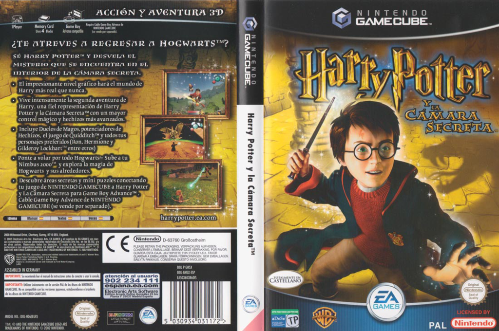 Harry Potter y la Cámara Secreta Wii coverfullHQ (GHSX69)