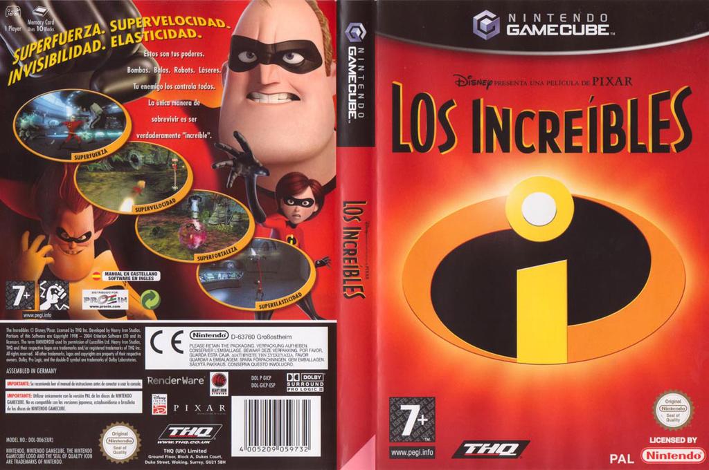 Los Increíbles Array coverfullHQ (GICP78)