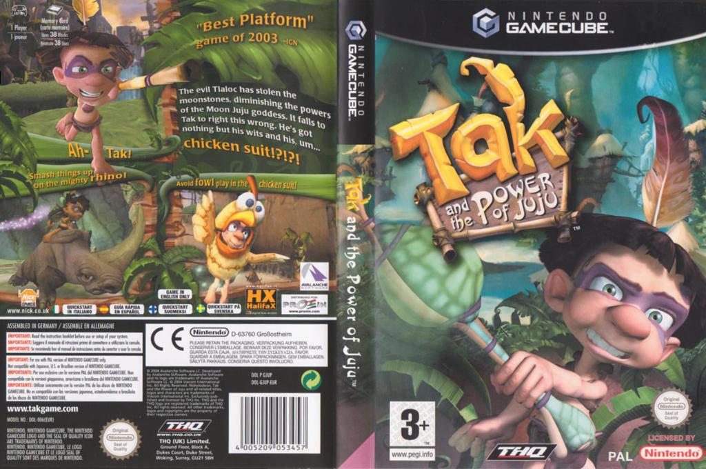 Wii coverfullHQ (GJUP78)