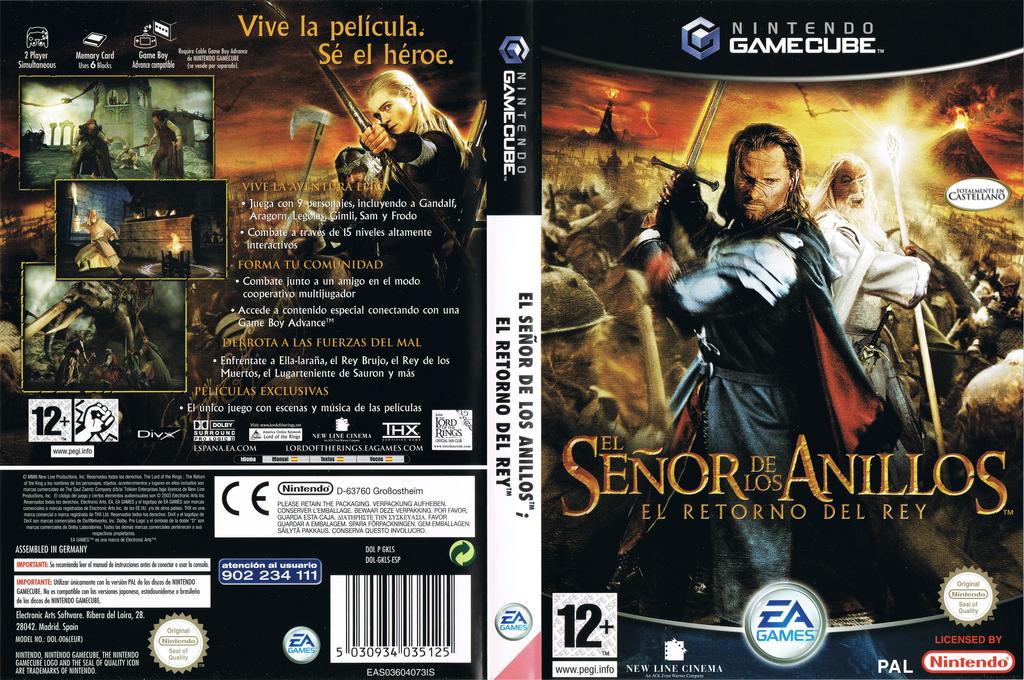 El Señor de los Anillos: El Retorno del Rey Wii coverfullHQ (GKLS69)