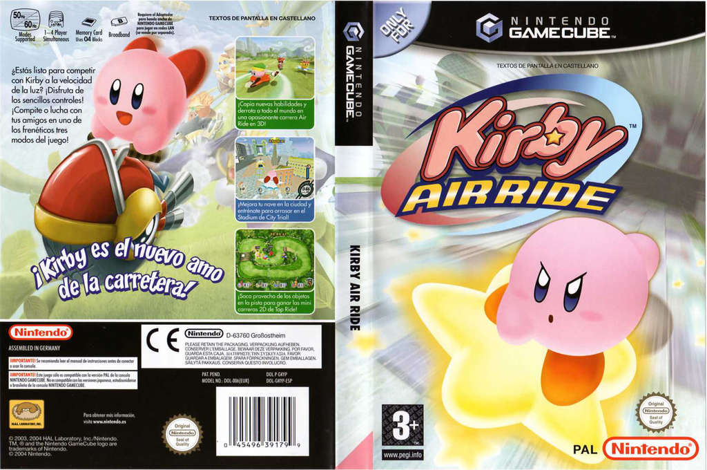 Kirby Air Ride Array coverfullHQ (GKYP01)