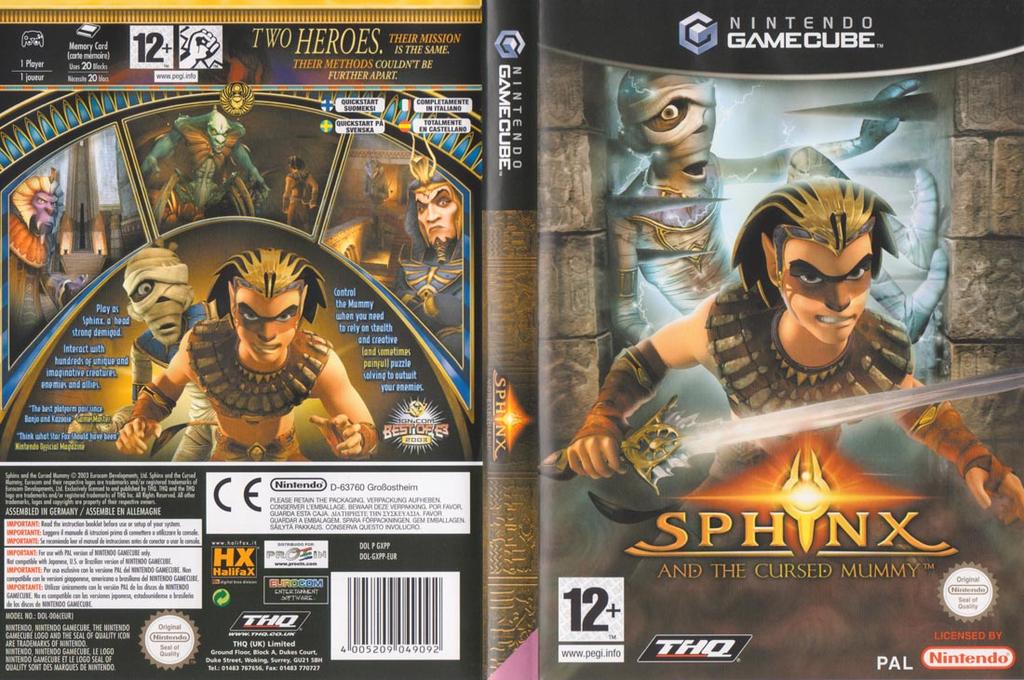 Sphinx y la maldita momia Wii coverfullHQ (GXPP78)