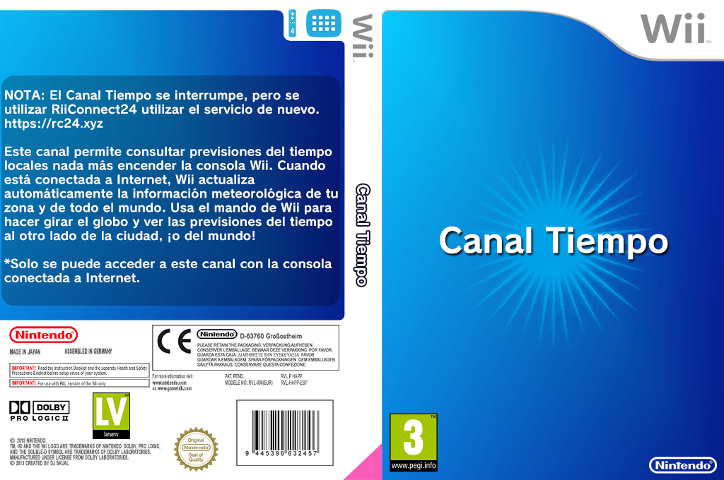 Canal Tiempo Wii coverfullHQ (HAFP)