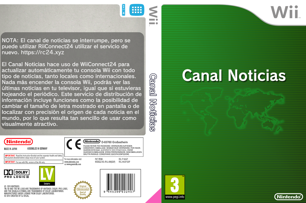 Canal Noticias Wii coverfullHQ (HAGP)