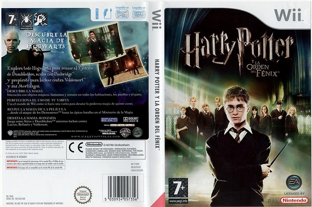 Harry Potter y la Orden del Fénix Wii coverfullHQ (R5PP69)