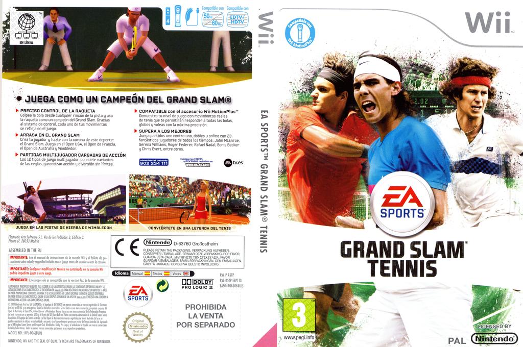 Grand Slam Tennis Wii coverfullHQ (R5TP69)
