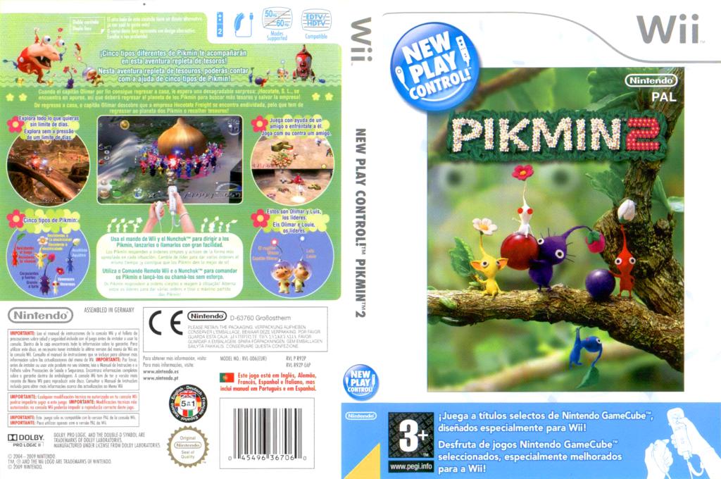 Pikmin 2 Wii coverfullHQ (R92P01)