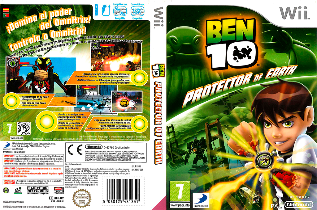 Ben 10: Protector of Earth Wii coverfullHQ (RBNXG9)