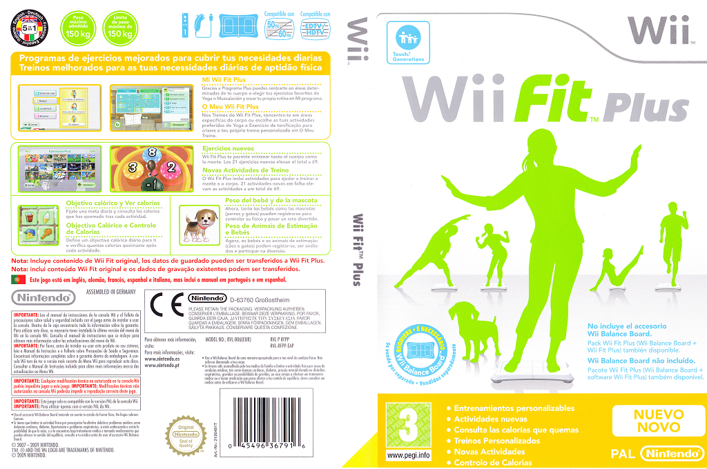 Wii Fit Plus Wii coverfullHQ (RFPP01)