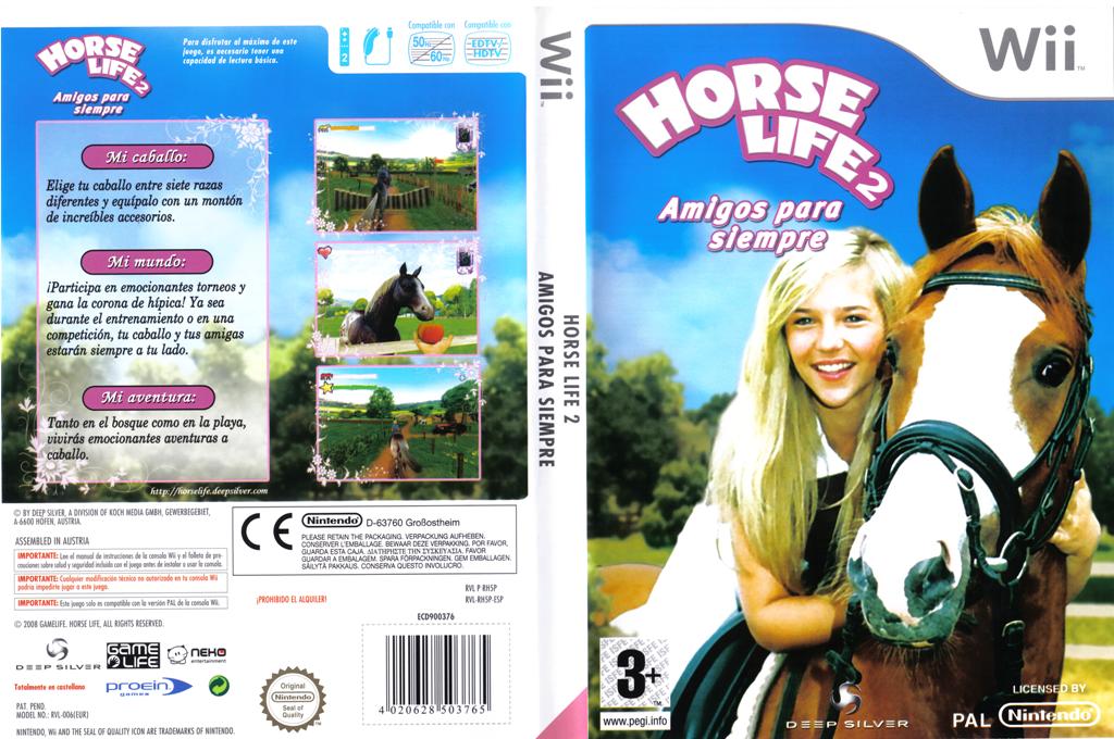 Horse Life 2: Amigos para Siempre Wii coverfullHQ (RH5PKM)