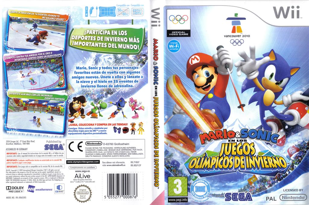 Mario & Sonic en los Juegos Olímpicos de Invierno Wii coverfullHQ (ROLP8P)