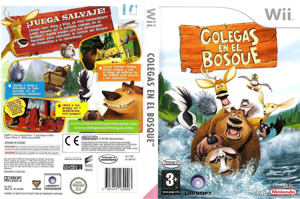 Colegas en el Bosque Wii coverfullHQ (ROPP41)