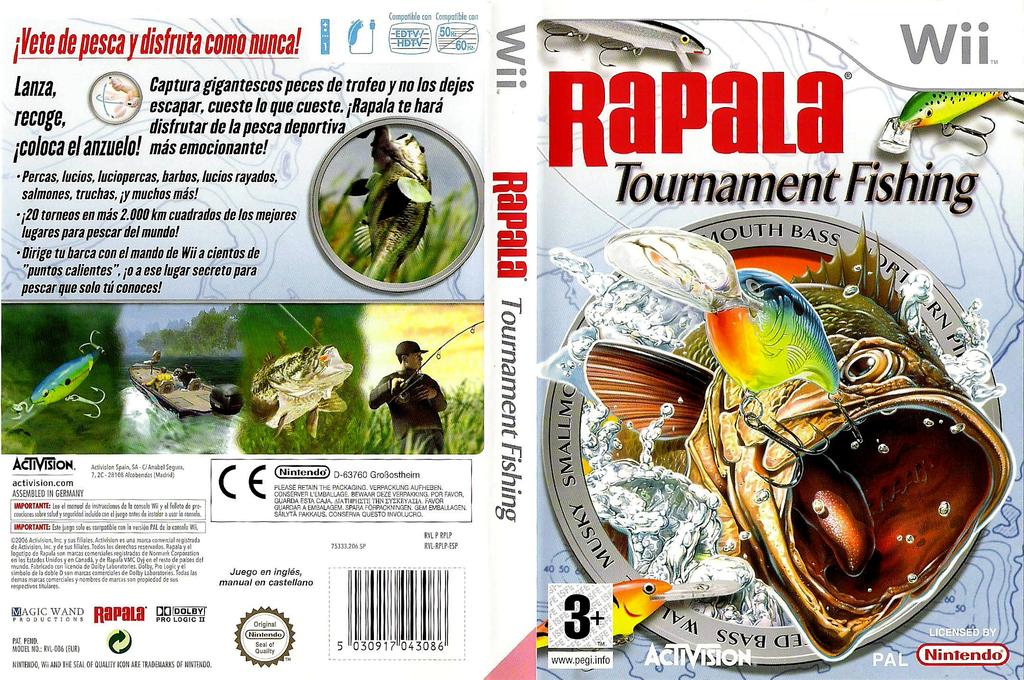 Rapala Tournament Fishing Wii coverfullHQ (RPLP52)