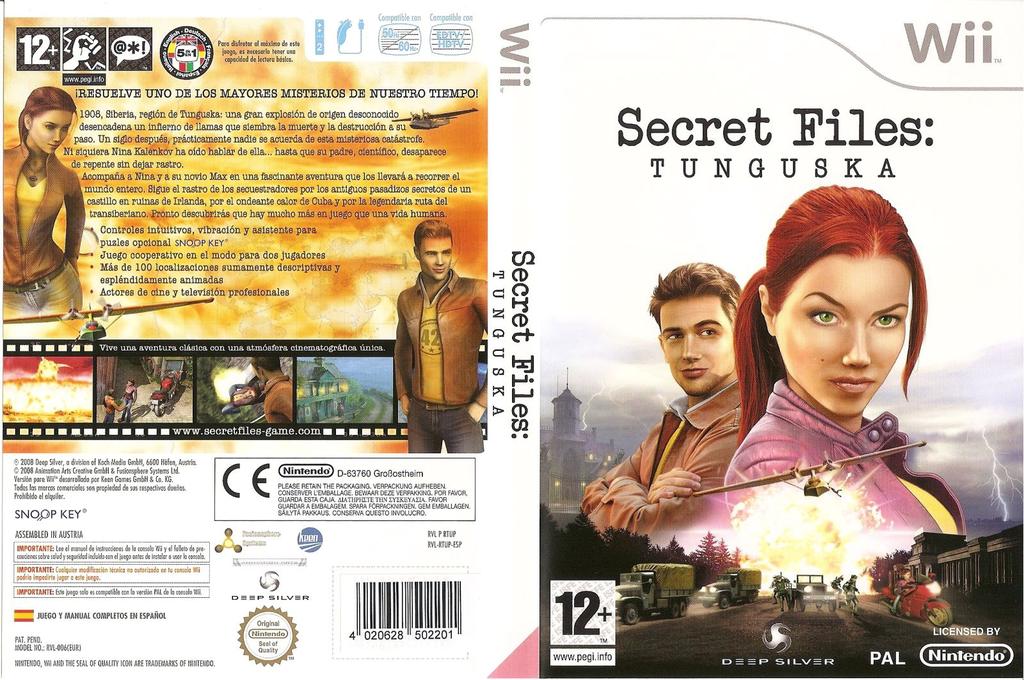 Secret Files: Tunguska Wii coverfullHQ (RTUFKM)