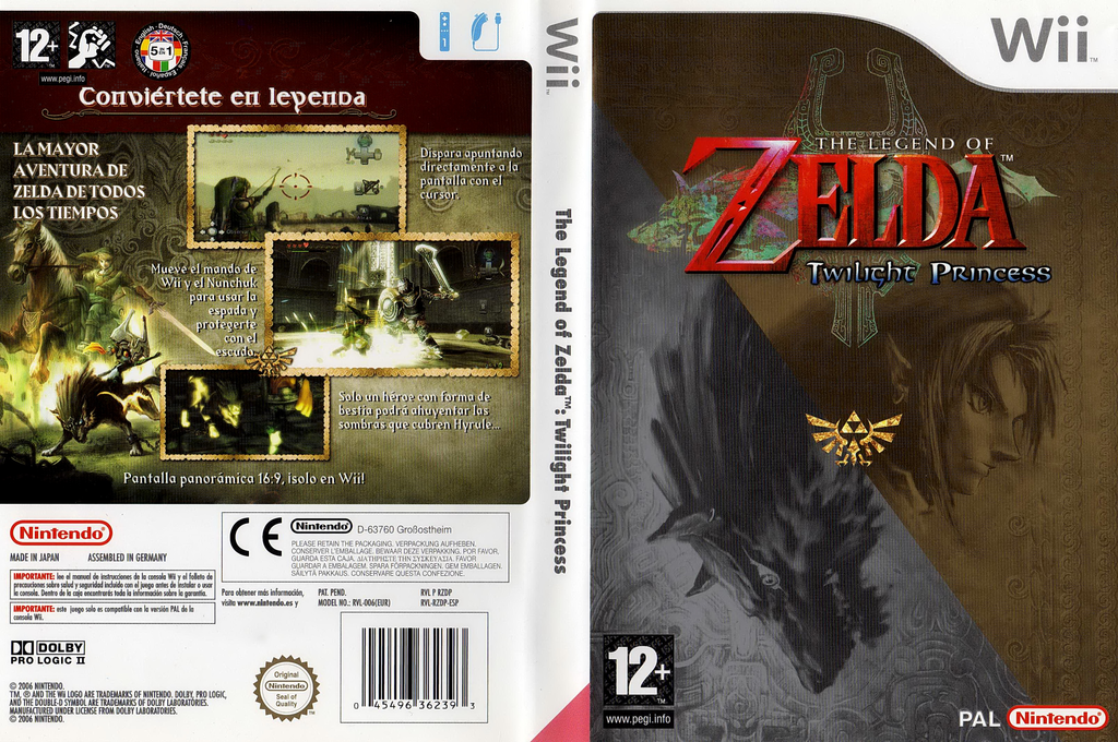 The Legend of Zelda: Twilight Princess Array coverfullHQ (RZDP01)