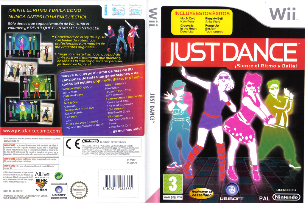 Just Dance Wii coverfullHQ (SDNP41)