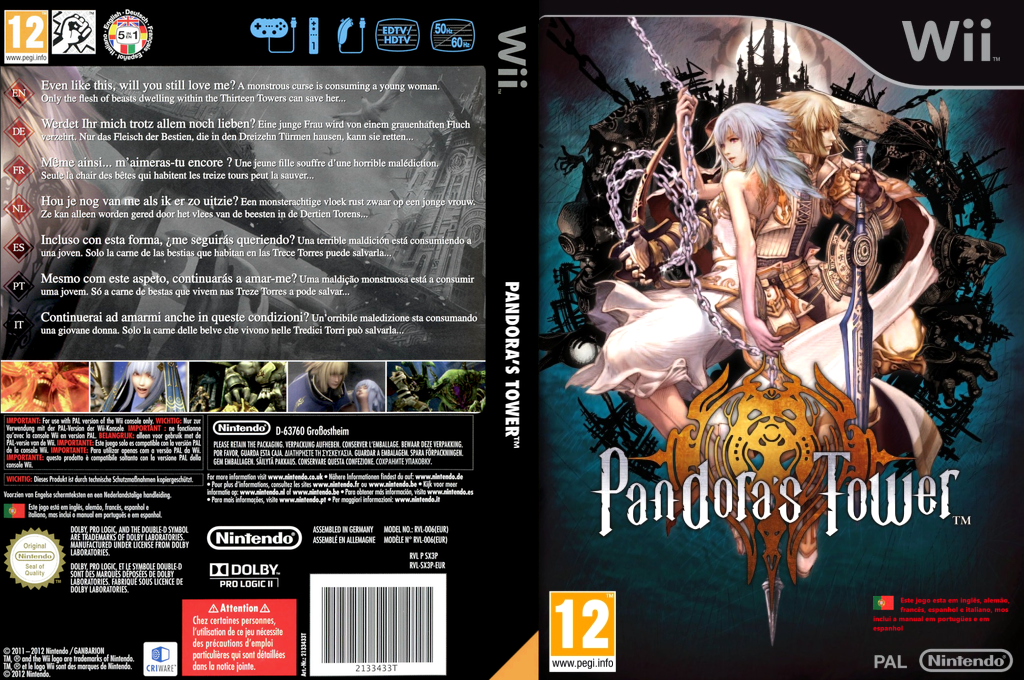 Pandora's Tower Wii coverfullHQ (SX3P01)