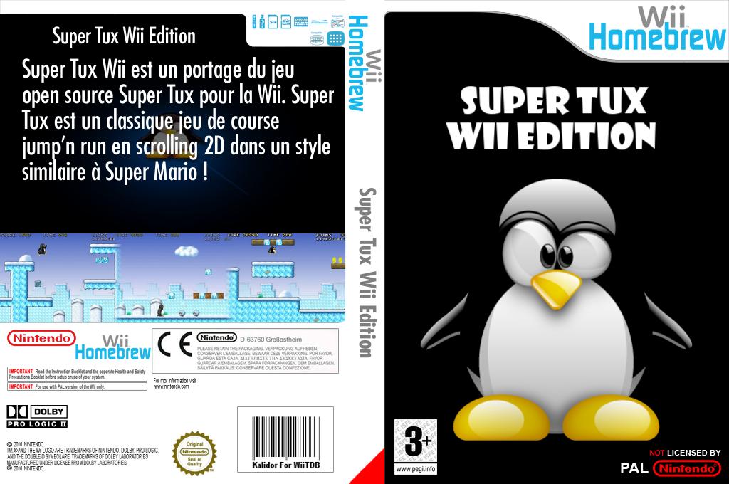 SuperTux Wii Wii coverfullHQ (DSWA)