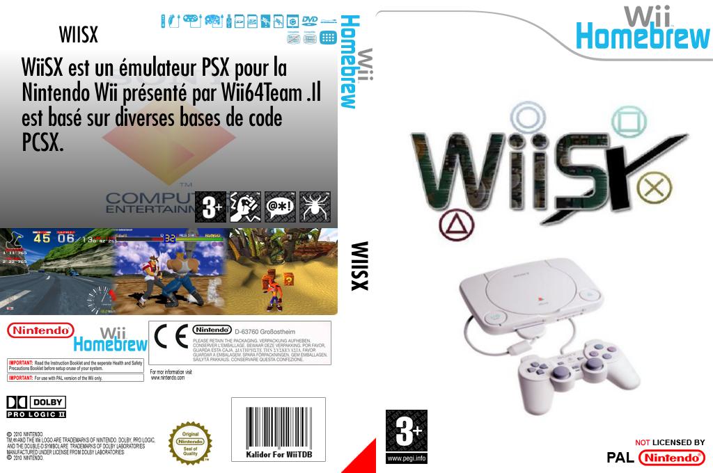 WiiSX Wii coverfullHQ (DWSA)