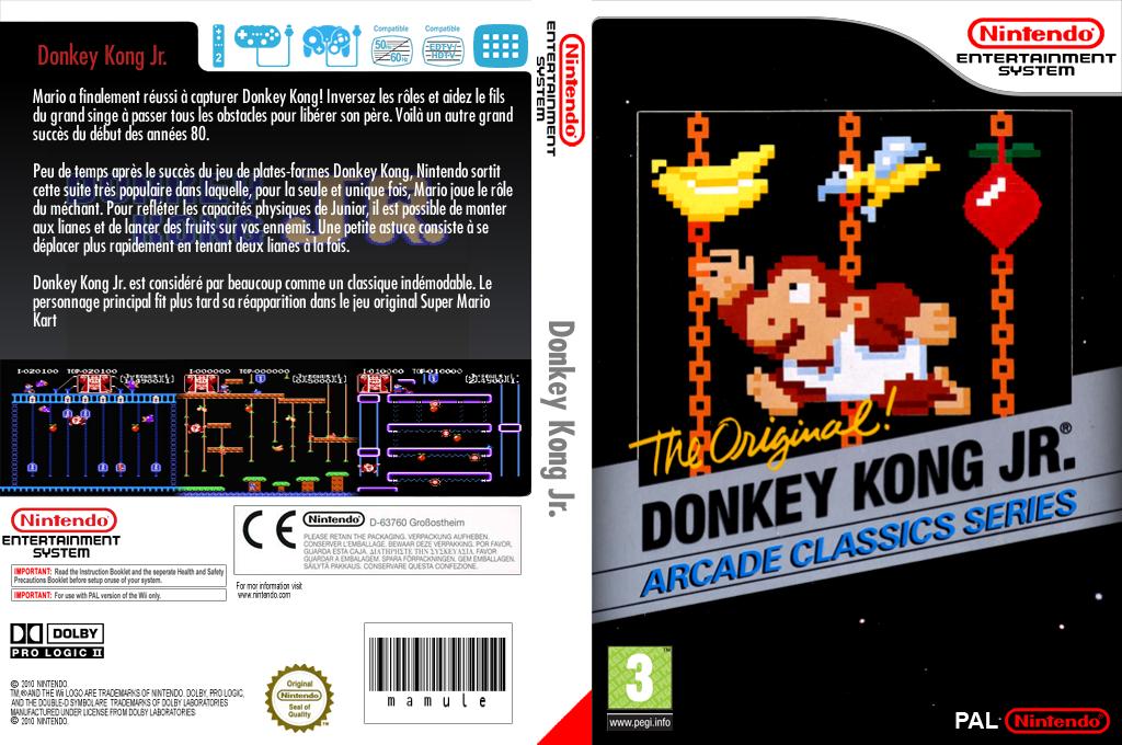 Donkey Kong Jr. Wii coverfullHQ (FABP)