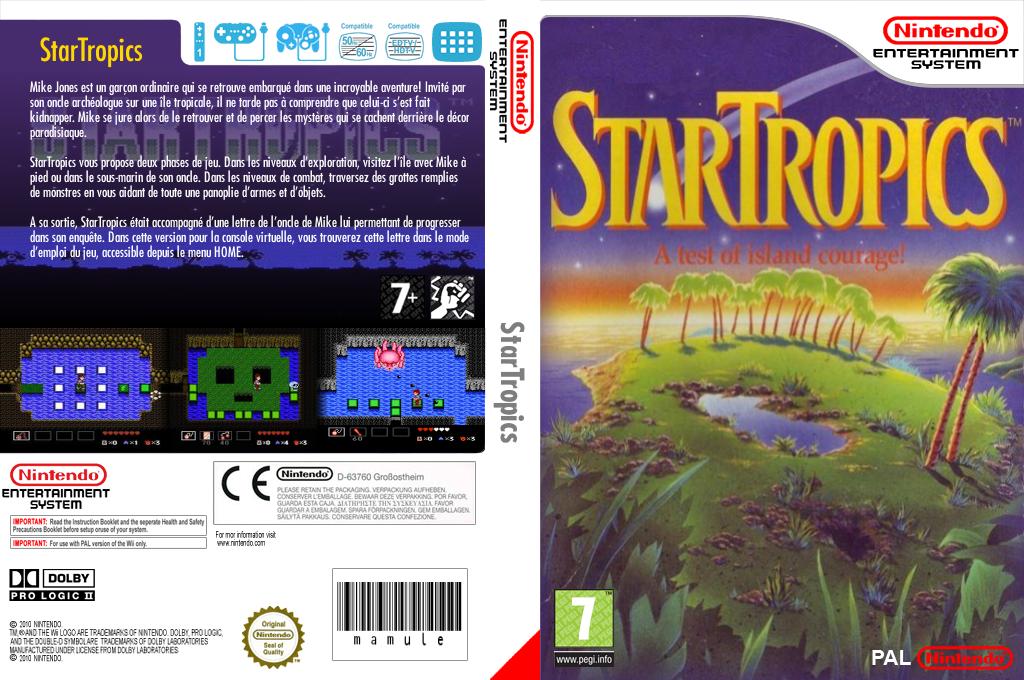 StarTropics Wii coverfullHQ (FC6P)