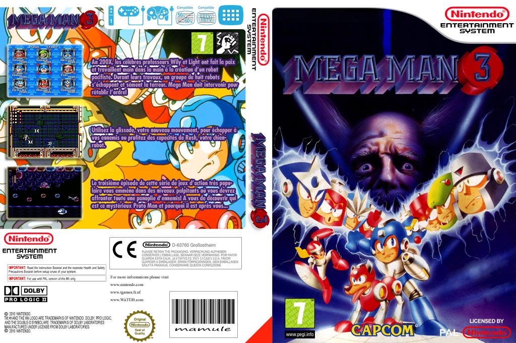 Mega Man 3 Wii coverfullHQ (FD7P)