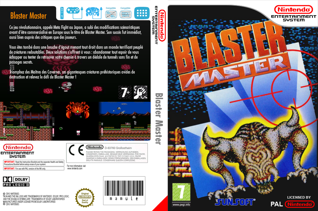 Blaster Master Wii coverfullHQ (FFMP)