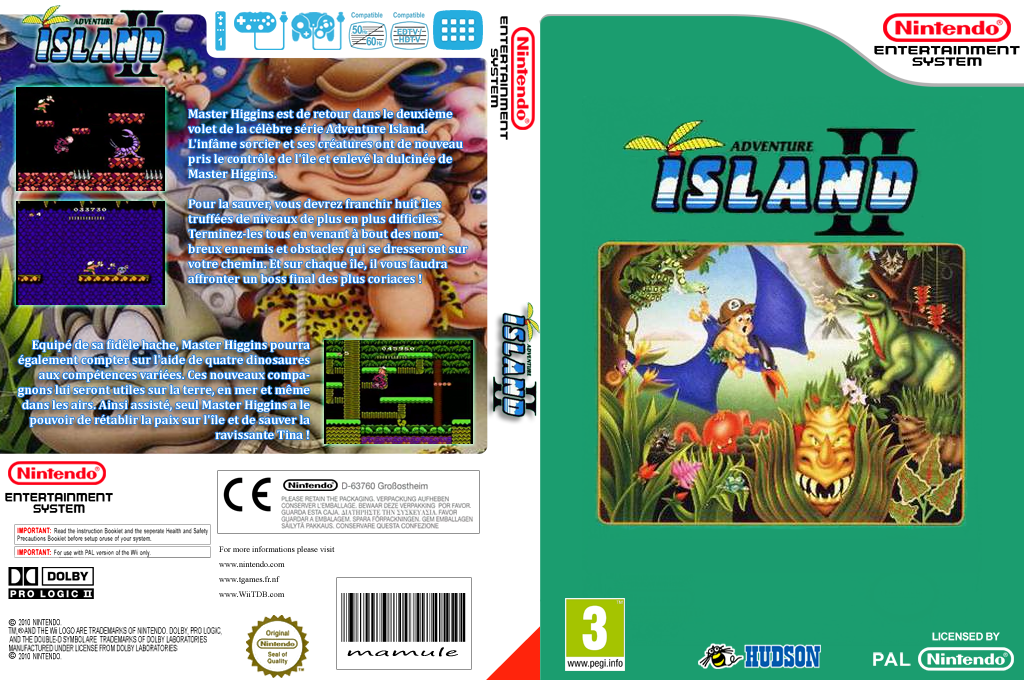 Adventure Island 2 Array coverfullHQ (FFUP)