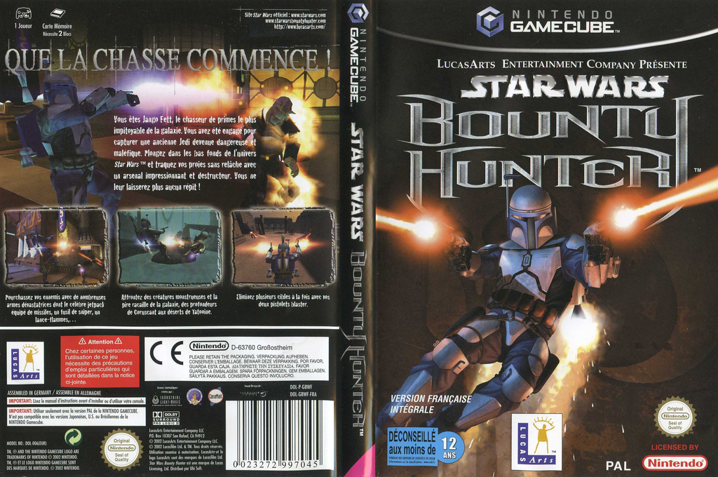 Star Wars Bounty Hunter Wii coverfullHQ (GBWF64)