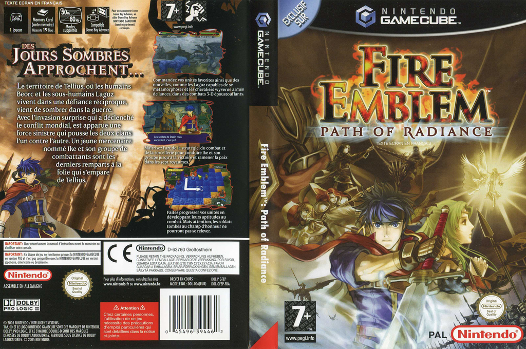Fire Emblem: Path of Radiance Array coverfullHQ (GFEP01)