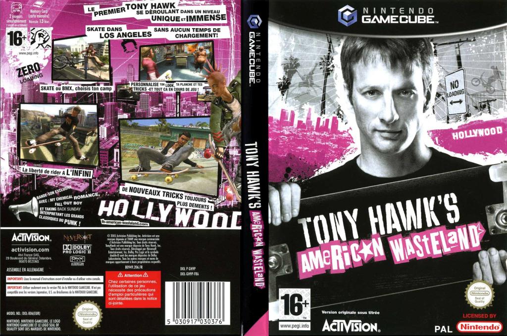 Tony Hawk's American Wasteland Wii coverfullHQ (GH9P52)