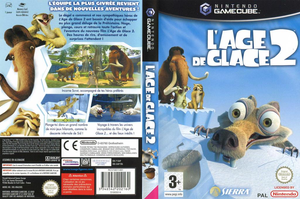 L'Age de Glace 2 Wii coverfullHQ (GIAP7D)
