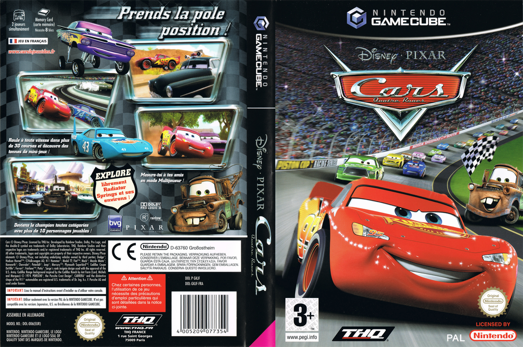 Cars: Quatre Roues Wii coverfullHQ (GKJF78)