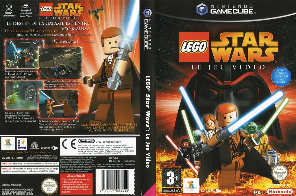 Lego Star Wars:Le Jeu Vidéo Wii coverfullHQ (GL5X4F)