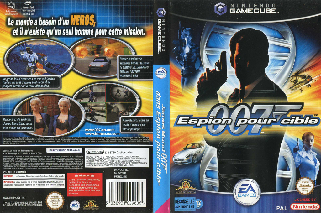 James bond 007 dans Espion pour Cible Wii coverfullHQ (GW7F69)