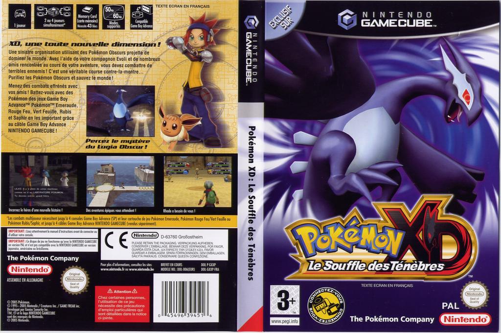 Pokémon XD:Le Souffle Des Ténèbres Wii coverfullHQ (GXXP01)
