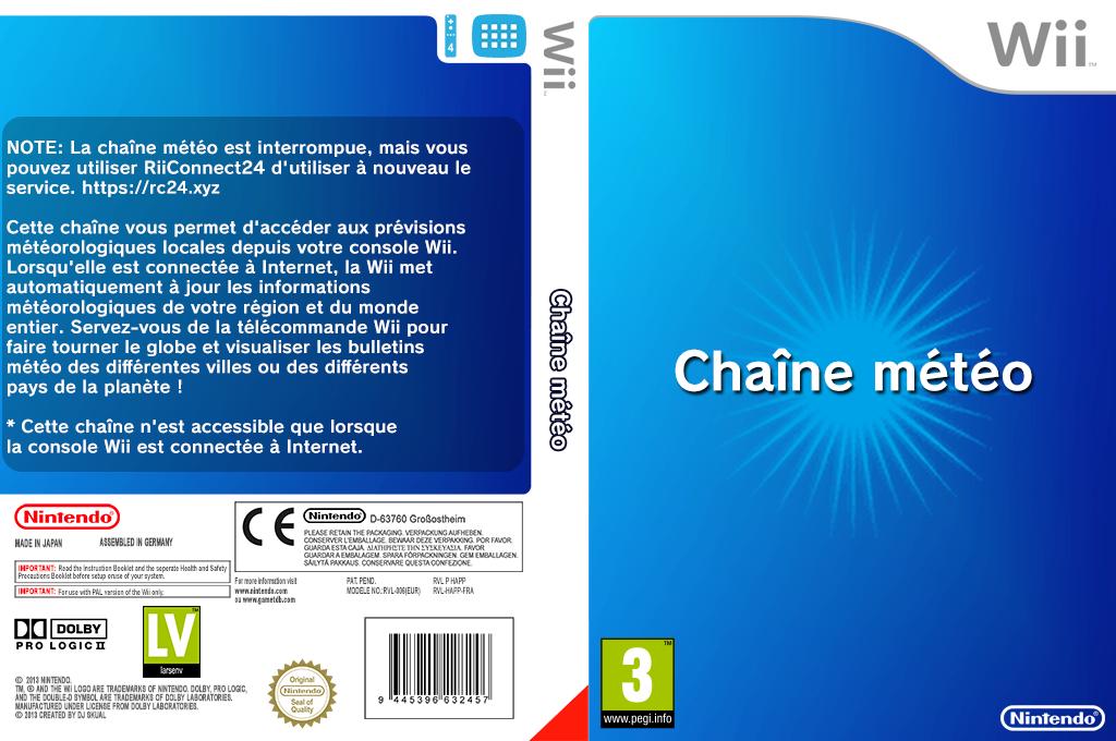 Chaîne Météo Wii coverfullHQ (HAFP)