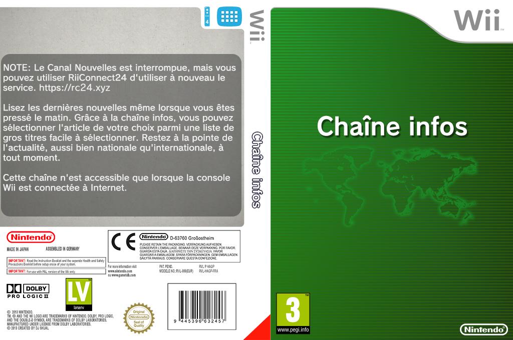 Chaîne Infos Wii coverfullHQ (HAGP)