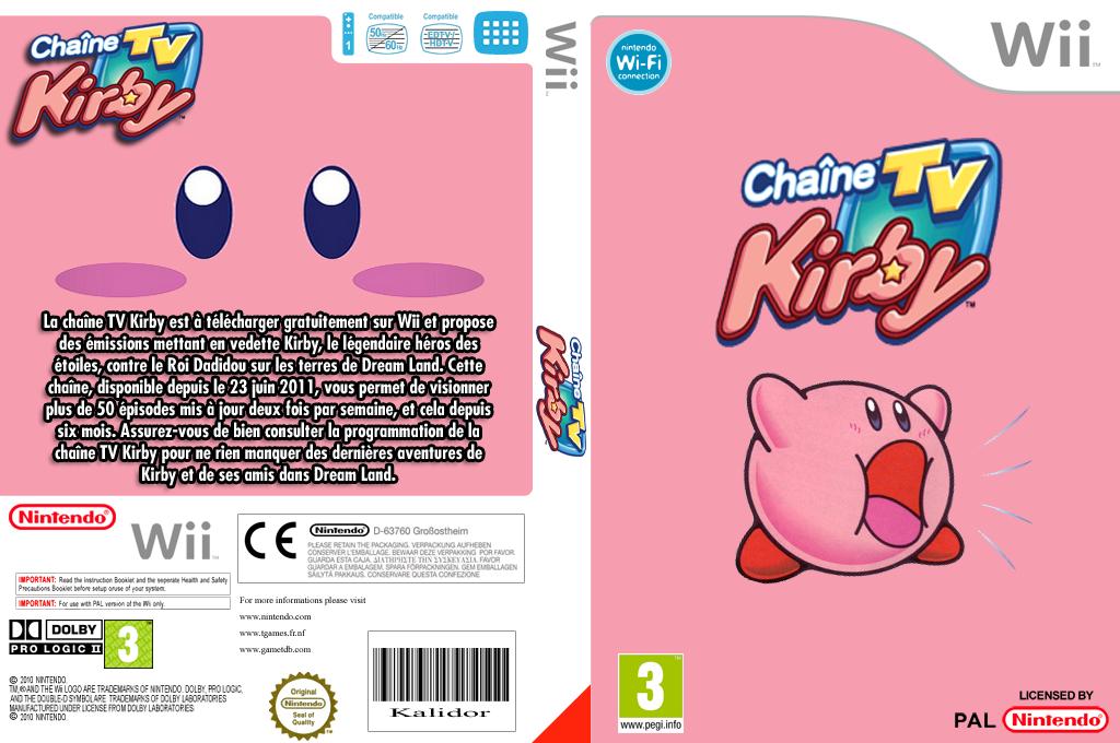 Chaîne Kirby TV Wii coverfullHQ (HCMP)